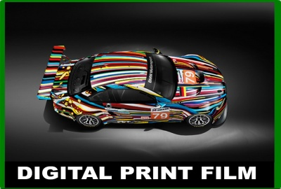 Digital Print Wrapping Films