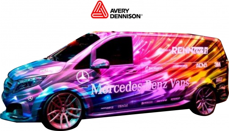 Digital Print Vehicle Wrap