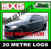 Hexis Vehicle Wrap 25 Meter Log
