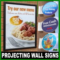 Projecting / Wall Signs