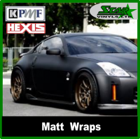Matt Satin Wraps