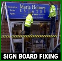Sign Board Fixing