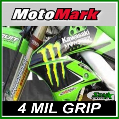 Motomark 235 Ultra Grip Matt White Digital Print