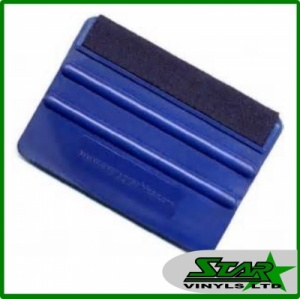 Avery Blue Felt Edge Squeegee