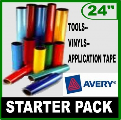 Avery Gloss Vinyl Starter Pack