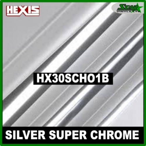 Hexis Silver Super Chrome HX30SCH01B