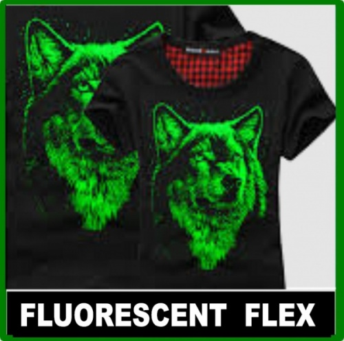 Fluorescent Garment Film