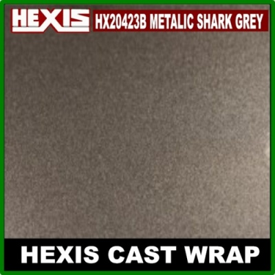 Hexis  Gloss Metallic Shark Grey HX20423B