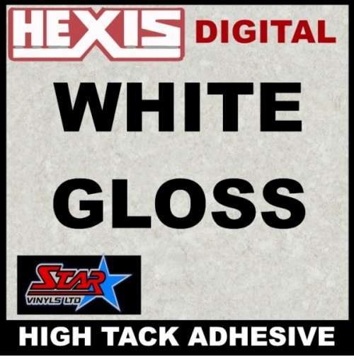 Hexis Digital Print High Tack Gloss vcmx3000wg