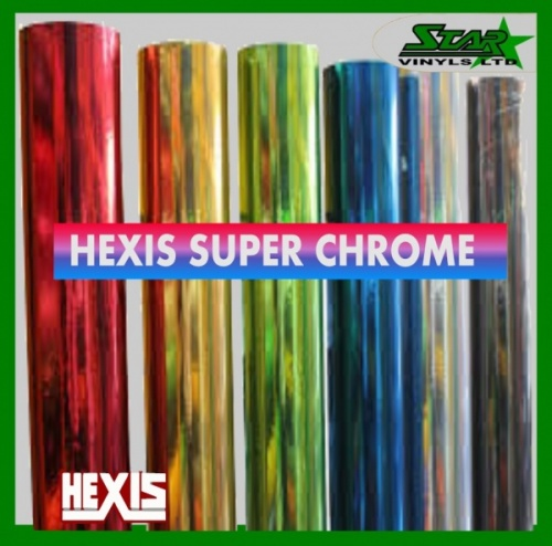 Hexis Super Chrome Samples