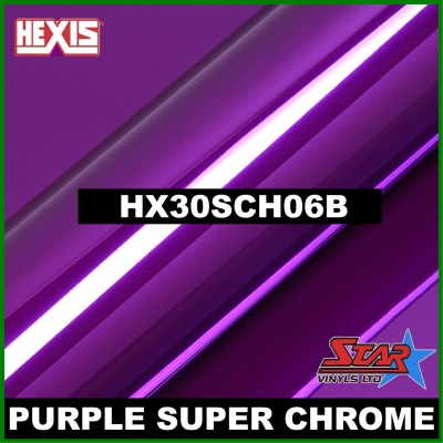Hexis Super Chrome Purple HX30SCH06B