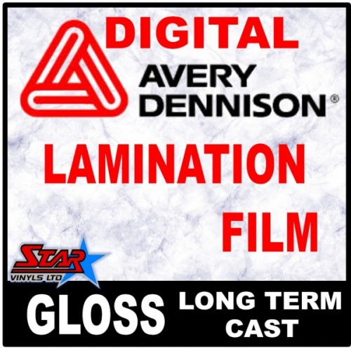 Lamination Film Avery DOL 1460  Gloss Cast