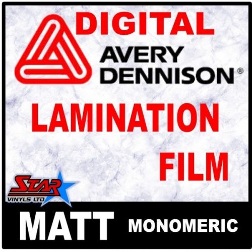 Lamination Film Avery DOL3480 Matt