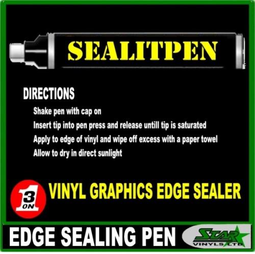Starvinyls Ltd Vinyl Edge Seal It Pen