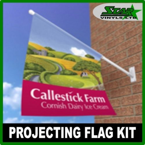 Projecting Flag Sign Kit