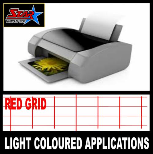 Starvinyls ltd ink jet printer transfer paper for light for Avery t shirt transfer paper for laser printers