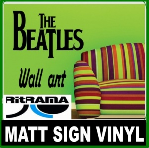 Ritrama Matt Sign Vinyl 50 Metre Log