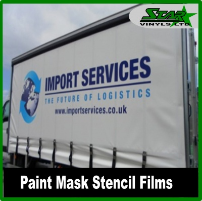 Stencil Films / Paint Mask