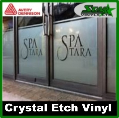 Avery Crystal Etched Film