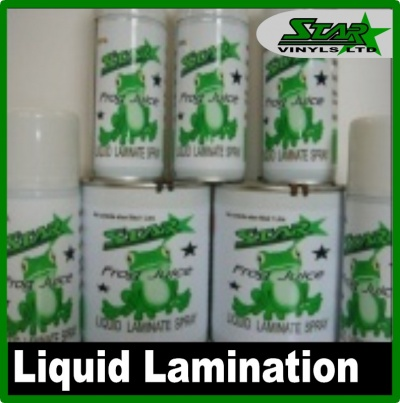 Star Liquid Laminate Spray