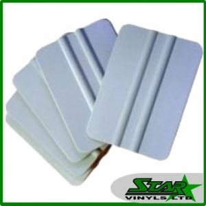 Star Grey Plastic Squeegee Pack