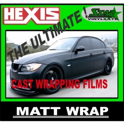HEXIS VEHICLE WRAP MATT