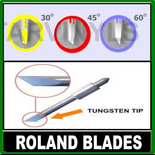Roland Vinyl Cutter/Plotter Blades