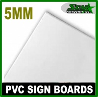 5mm Foam PVC White Sign Boards