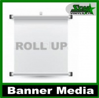Pull up Lay Flat Banner