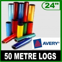 Avery 500 Intermediate 610mm (24'') Gloss Vinyl Logs