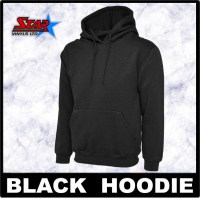 Black Hoody 3 Pack Size Small