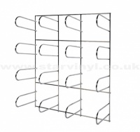 Sign Vinyl Wall Rack 16 Rolls