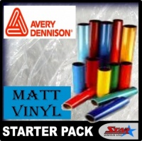 Avery Matt Vinyl Starter Pack
