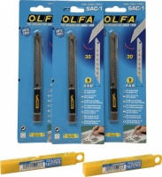 Olfa Professional Designer 30 degree Snap Knife And Blades