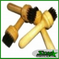 Wooden Handle Rivet Brush