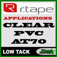 R Tape Clear Application Tape AT70