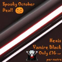 Hexis Vampire Black HX20N03B OFFER