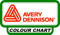 Avery 500 Vinyl Colour Chart