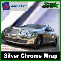 Avery Silver Chrome Wrap