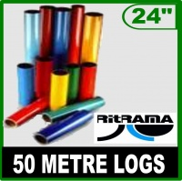 610mm (24'') Gloss Ritrama Logs