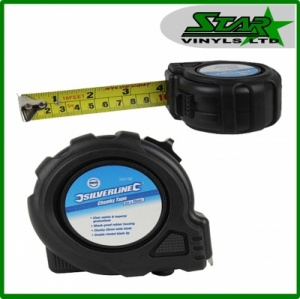 Silverline Chunky Tape Measure