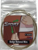 Badge Removal Wire